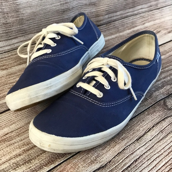 9fab83a01f05 Keds Shoes - Keds Champion Canvas Sneakers Blue Women s 9 Nice!